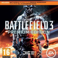 Battlefield 3 Premium Edition Ps3 - Jocuri PS3 Electronic Arts, Shooting, 16+