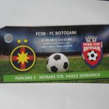 Steaua Bucuresti-FC Botosani (27 august 2017), acces parcare