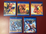 Colectia completa Spider Man , 5 filme blu ray cu romana, NOI !!!, sony pictures