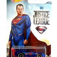 Jucarie Hot Wheels Justice Leauge Power Pro Superman (1/7) - Masinuta Hasbro