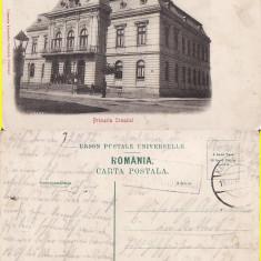 Falticeni ( Suceava, Bucovina )-Primaria- clasica, rara - Carte Postala Bucovina pana la 1904, Circulata, Printata