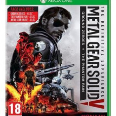 Metal Gear Solid V The Definitive Experience Xbox One - Jocuri Xbox One, Shooting, 18+