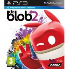 De Blob 2 (Move) Ps3 - Jocuri PS3 Thq, Arcade, 3+