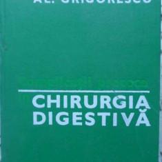 Complicatii Precoce In Chirurgia Digestiva - Al. Grigorescu, 409062 - Carte Chirurgie