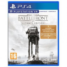 Star Wars Battlefront Ultimate Edition Ps4 - Jocuri PS4, Actiune, 12+