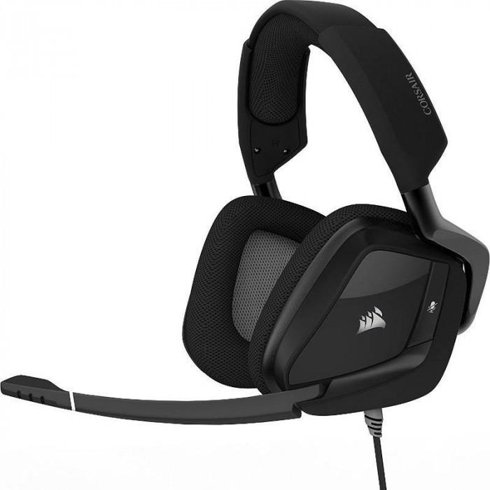 Casti gaming Corsair Void Pro RGB USB Dolby 7.1 Black foto mare