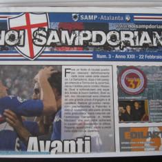 Sampdoria - Atalanta - (22 februarie 2009), program de meci - Program meci