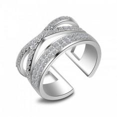 Inel argint si zirconiu Special Stones - Inel Swarovski