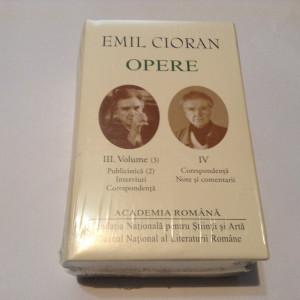 Emil Cioran - Opere 4 vol