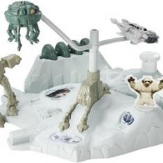 Jucarie Hot Wheels Star Wars Starship Hoth Echo Base Battle Play Set - Masinuta