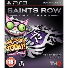 Saints Row The Third Genki Edition Ps3 - Jocuri PS3 Thq