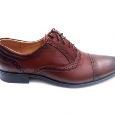 Pantofi barbati eleganti din piele naturala MARO PHOXFORDM, Marime: 39, 40, 41, 42, 43, 44