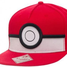 Sapca Pokemon 3D Poke Ball - Sapca Barbati