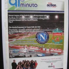Napoli - Liverpool (program de meci UEFA) - Program meci