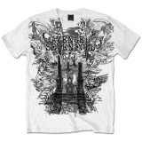 Tricou Avenged Sevenfold - Land of Cain - Tricou barbati, Marime: S