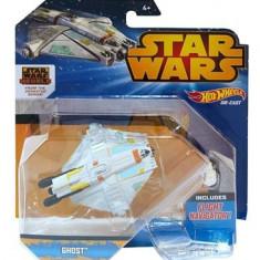Jucarie Hot Wheels Star Wars Starship Rebels Ghost Vehicle - Masinuta