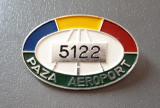Insigna Paza Aeroport - Aviatie