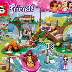 Joc tip Lego FRIENDS SY 831 de 307 piese - Set de constructie