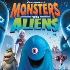 Monsters Vs Aliens Nintendo Wii - Jocuri WII Activision, Actiune, 12+