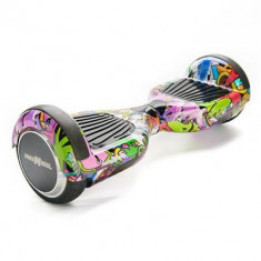 Scooter Electric Freewheel F1 Graffiti Mov - Hoverboard