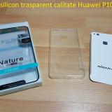 Husa silicon trasparent calitate Huawei P10 lite, Alt model telefon Huawei, Transparent