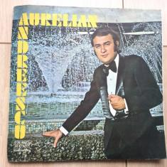 Aurelian Andreescu album disc vinyl lp Muzica Pop electrecord slagare usoara 1974 ONDULAT, VINIL