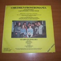 DORU CAPLESCU-CHILDREN FROM ROMANIA (maxi single) disc vinil LP vinyl pickup