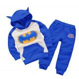 Trening Batman albastru vatuit, Marime: 4-5 ani
