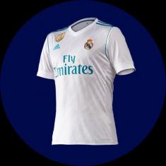 Tricou Adidas Real Madrid AZ 8059 Real H JSY 2017/2018 - Tricou barbati Adidas, Marime: M/L, Culoare: Alb