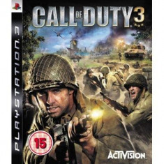 Call Of Duty 3 Ps3 - Jocuri PS3 Activision
