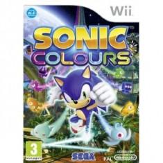 Sonic Colours Nintendo Wii - Jocuri WII Sega, Actiune, 3+