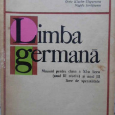 Limba Germana Manual Pentru Clasa A Xi-a Liceu (anul Iii Stud - Bruno Colbert, Grete Klaster-ungureanu, Magda Iord, 409089 - Carte in germana