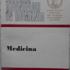 Istoria Stiintelor In Romania Medicina - St.-m. Milcu, B. Dutescu, 409082