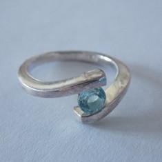 Inel argint cu zirconiu -2148