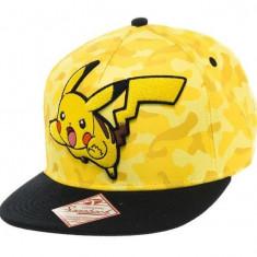 Sapca Pokemon Pikachu Camo - Sapca Barbati