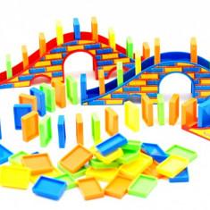 Jucarie cu piese domino - Joc domino distractiv pentru copii - Jocuri arta si creatie