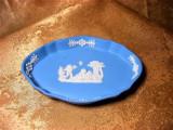Farfuriuta maruntis, chei, portelan Wedgewood Jasperware, colectie