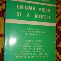 Enigma vietii si a mortii 294pagini- Aurel Popescu Balcesti - Carte ezoterism