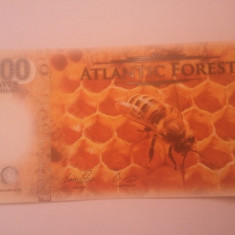 Atlantic Forest, albina, 500 dollars 2016, UNC