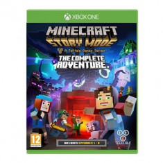 Minecraft Story Mode The Complete Adventure Xbox One - Jocuri Xbox One, Actiune, Toate varstele
