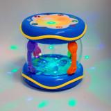 Cutie muzicala cu mp3 si pestiori de jucarie care se rotesc - Instrumente muzicale copii