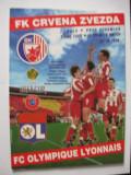 Steaua Rosie Belgrad - Olympique Lyon (20 0ct. 1998), jucat la Bucuresti UEFA