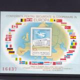 ROMANIA 1983 LP 1086 CSCE MADRID COLITA NEDANTELATA MNH - Timbre Romania, Nestampilat