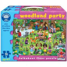 Puzzle orchard toys de Podea Petrecerea din Padure 70 piese