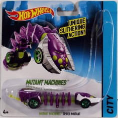 Jucarie Hot Wheels Mutant Machines Spider Mutant - Masinuta