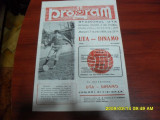 Program        UTA  -   Dinamo