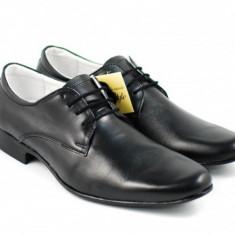 Pantofi barbati eleganti din piele naturala 884N - Lichidare stoc, Marime: 41