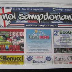 Sampdoria - Roma - (4 mai 2008), program de meci - Program meci