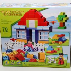Jucarie constructiva Casuta - Joc compatibil lego cu 70 piese mari - LEGO Technic