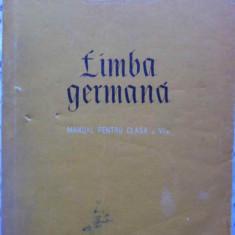 Limba Germana Manual Pentru Clasa A Vi-a - Abager Basiliu, Ursula Borda, 409090 - Carte in germana